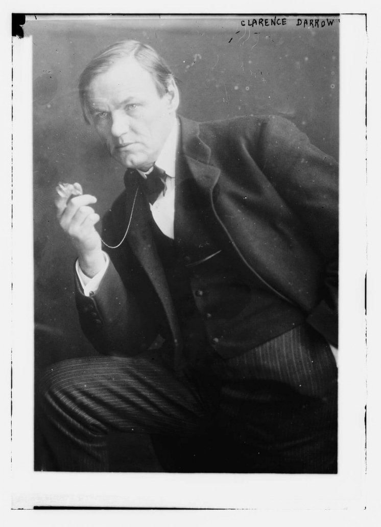 Clarence Darrow: Library of Congress, Prints & Photographs Division, LC-DIG-ggbain-06468.