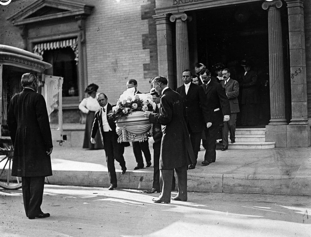 Harvey Elder Funeral: Los Angeles Times Collection, The Huntington Library, San Marino, California