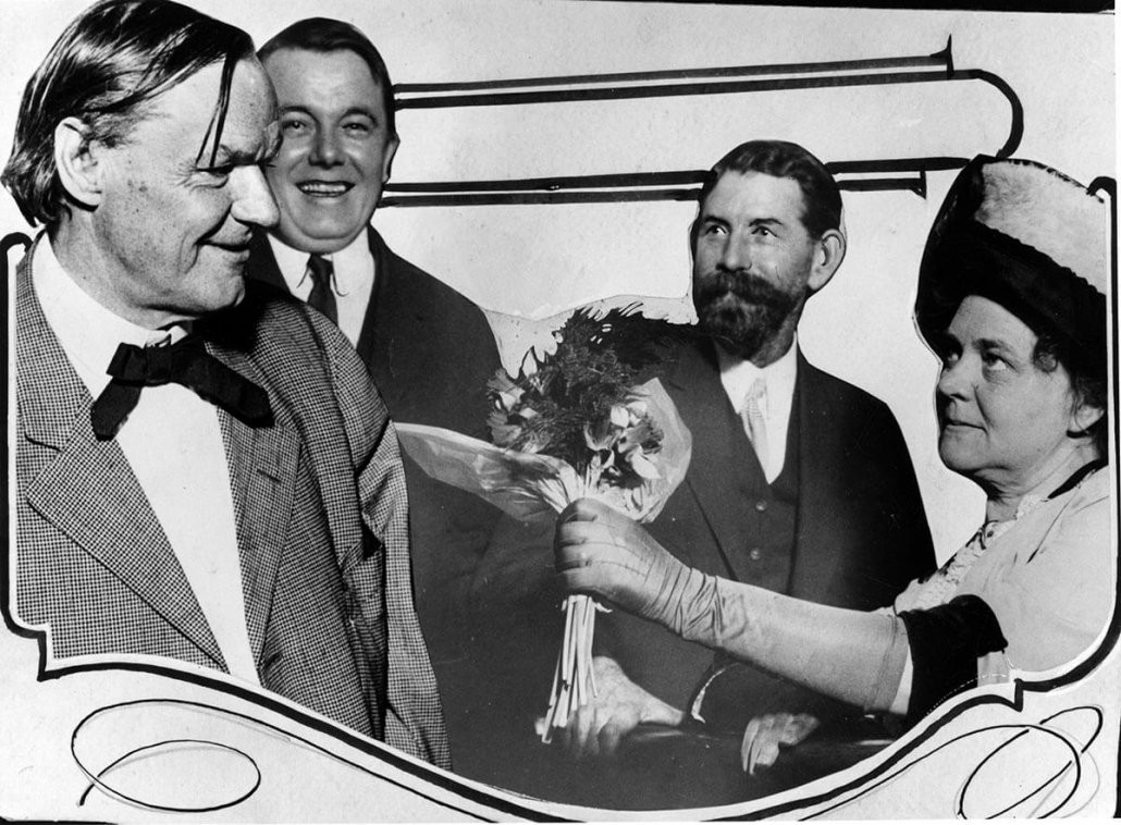 Clarence Darrow and Friends: Herald Examiner Collection / Los Angeles Public Library