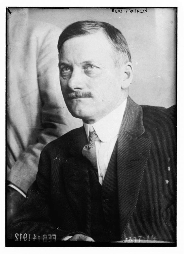 Bert Franklin: Wikimedia Commons, https://commons.wikimedia. org/wiki/File:Bert_Franklin_LCCN2014686628.tif