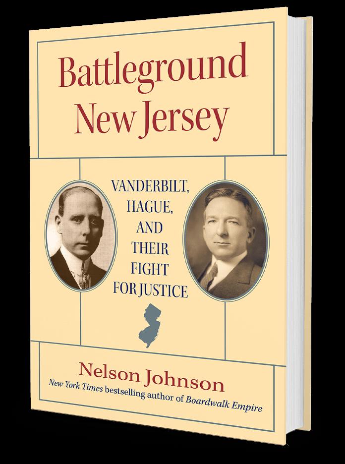 Battleground New Jersey by Nelson Johnson